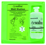 Single Eye Wash Station; 1 - 16 oz Bottle