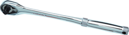 "Proto® Tether-Ready 1/2"" Drive Long Handle Premium Pear Head Ratchet 15"""