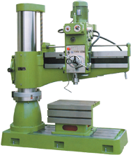 Radial Drill Press - #TPR1230 - 48-1/2'' Swing; 2HP, 3PH, 220V Motor