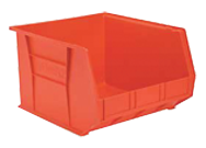 16-1/2 x 18 x 11'' - Red Hanging or Stackable Bin