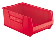 "12-3/8"" x 20"" x 6"" - Red Stackable Bins"