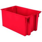 29-1/2 x 19-1/2 x 15'' - Red Nest-Stack-Tote Box