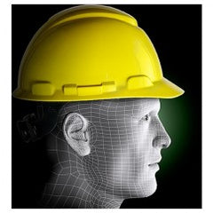 HARD HAT H-702R YELLOW