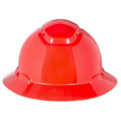 HARD HAT H-805V-UV RED FULL BRIM