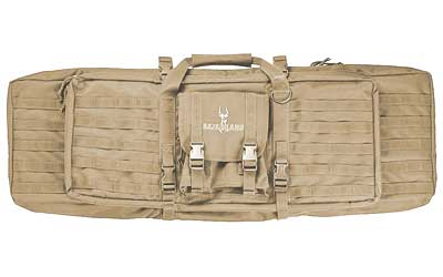"SL DUAL RIFLE CASE 46"" FDE BROWN"