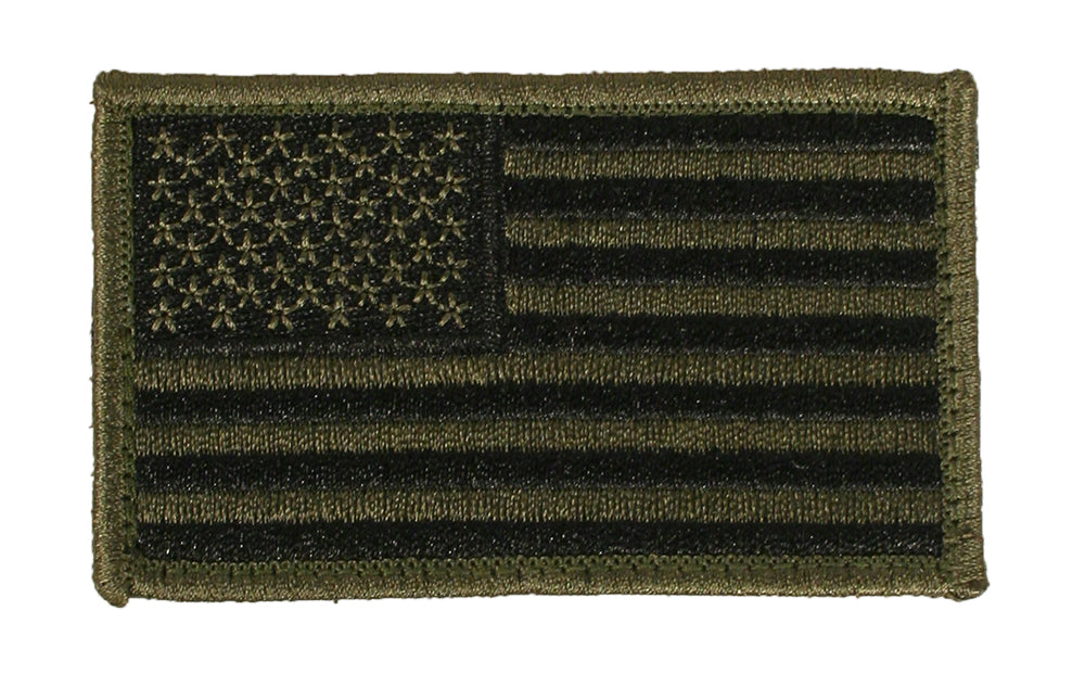 US Flag Patches - Standard Orientation