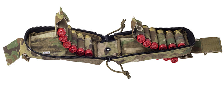 MOLLE Quick-Deploy Shotshell Pouch - Holds 18