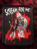 Scream For Me! Patch