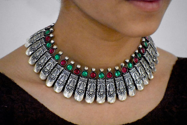 Antique Choker Necklace-ACN021