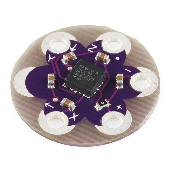A product image of LilyPad Accelerometer ADXL335