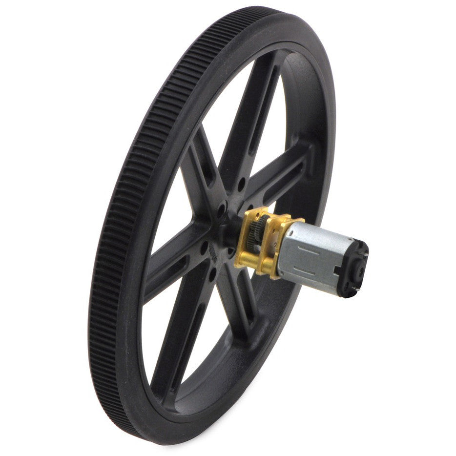 A product image of Pololu Wheel 90x10mm Pair