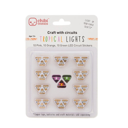 A product image of Circuit Stickers LED MegaPack (30 stickers)
