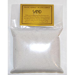 White incense burner sand 1 Lb
