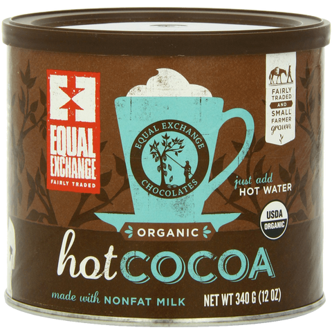 Equal Exchange Organic Hot Cocoa Mix 12-Ounce Tins