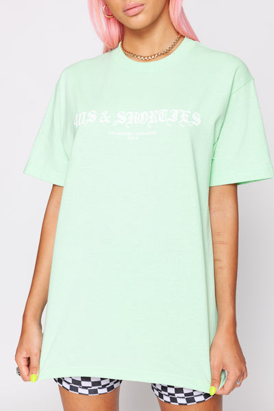 Old School Tee Mint