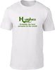 Hughes Probably The Best Surname In The World Mens T Shirt