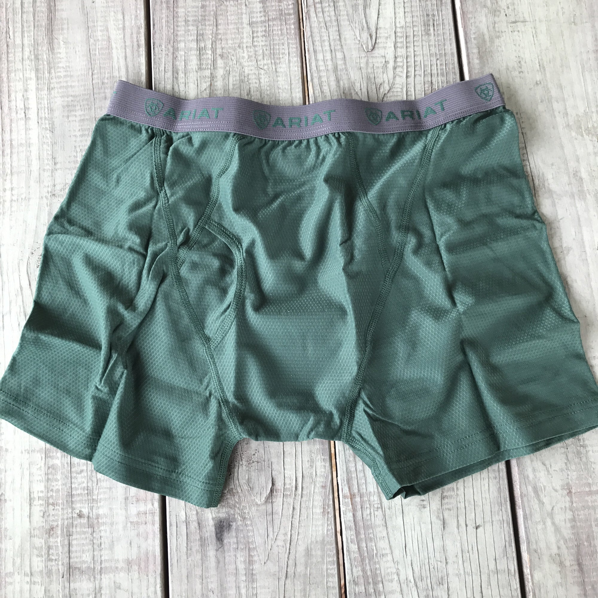 Ariat Men's Green Undertek Boxer