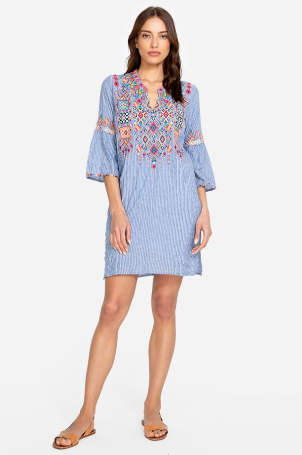 Johnny Was Shankara Tunic Dress