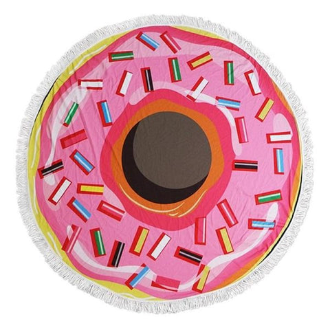 Image of Round Towel - Donut - 02 / M - Towel
