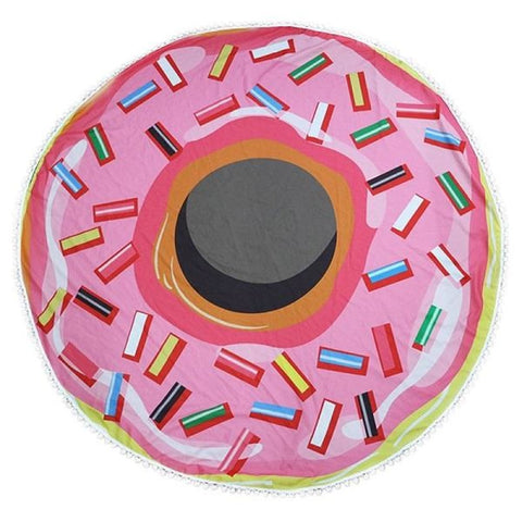 Image of Round Towel - Donut - 03 / M - Towel