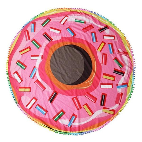 Image of Round Towel - Donut - 04 / M - Towel