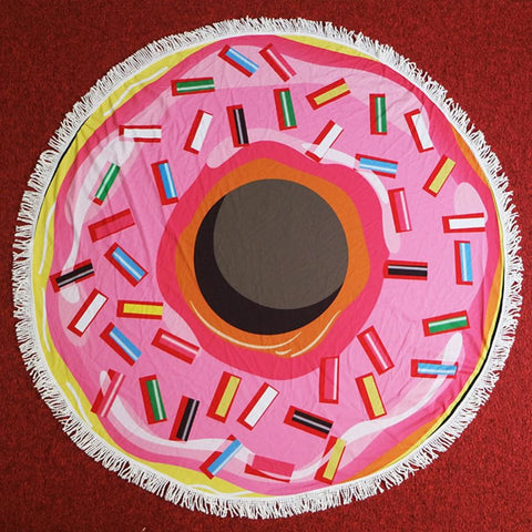 Image of Round Towel - Donut - Towel