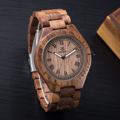 The Back Bay Wood Watch - Watch