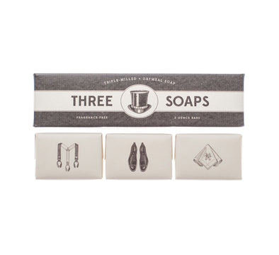 GENTLEMAN SOAP SET