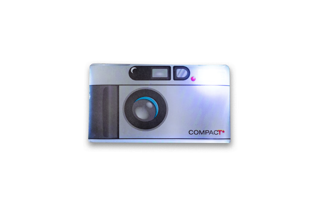 Contax T2 Style Camera Light Up Lapel Pin