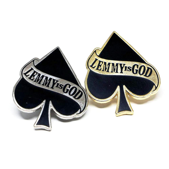 Lemmy is God Pin