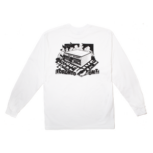 Better™Gift Shop Gimme 5 White L/S Tee