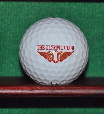 The Olympic Club San Francisco logo golf ball. Titleist Pro V1 Excellent Cond