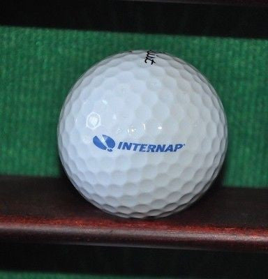 Internap Cloud Hosting Logo golf ball. Titleist.