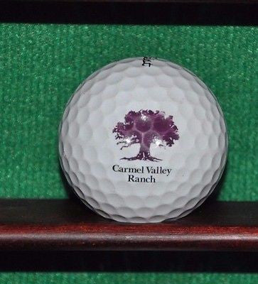 Carmel Valley Ranch Golf Course logo ball. Titleist Pro V1