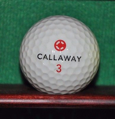 Vintage CNN logo golf ball. Callaway