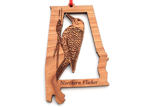 Alabama State Bird Ornament - Northern Flicker