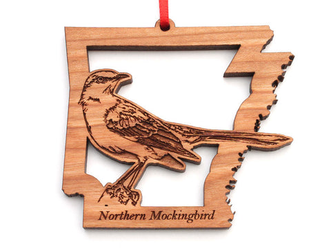 Arkansas State Bird Ornament - Northern Mockingbird