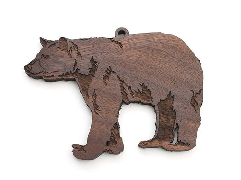 Black Bear Ornament - Nestled Pines