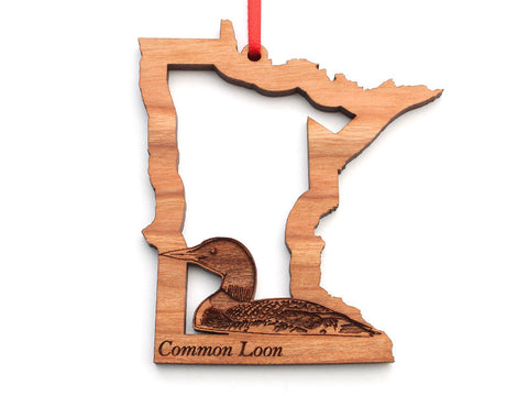 Minnesota State Bird Ornament - Common Loon