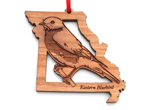 Missouri State Bird Ornament - Eastern Bluebird
