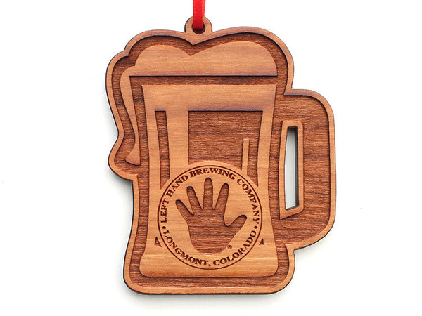 Left Hand Brewing Company Beer Mug Ornament