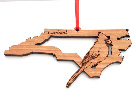 North Carolina State Bird Ornament - Cardinal