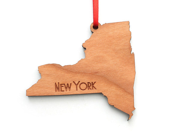 New York State Ornament - Nestled Pines