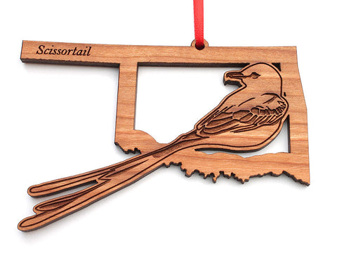 Oklahoma State Bird Ornament - Scissortail
