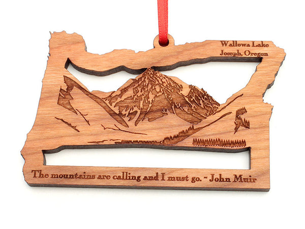 Copper Creek Joseph Oregon State Shape Wallowa Lake Insert Ornament