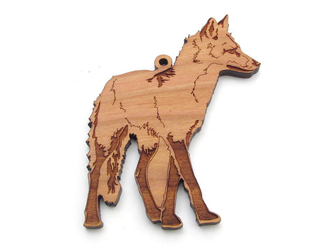 Red Fox Ornament - Nestled Pines