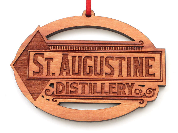 St Augustine Distillery Oval Ornament