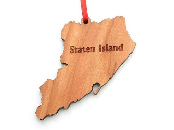 Staten Island NYC Borough Ornament - Nestled Pines