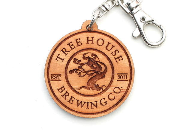Tree House Brewing Company Logo Key Chain