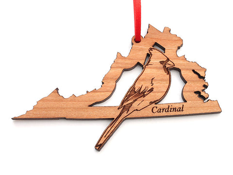 Virginia State Bird Ornament - Cardinal